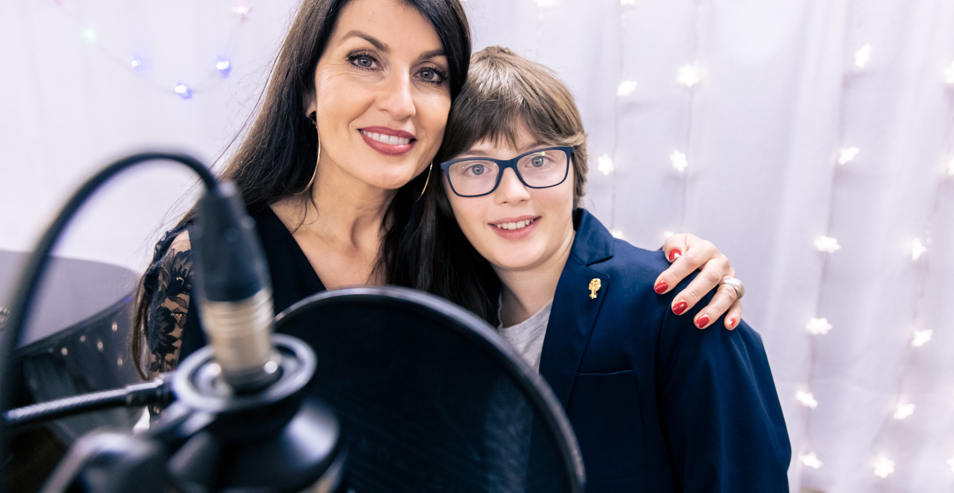 Monika Ballwein mit Sohn Noah