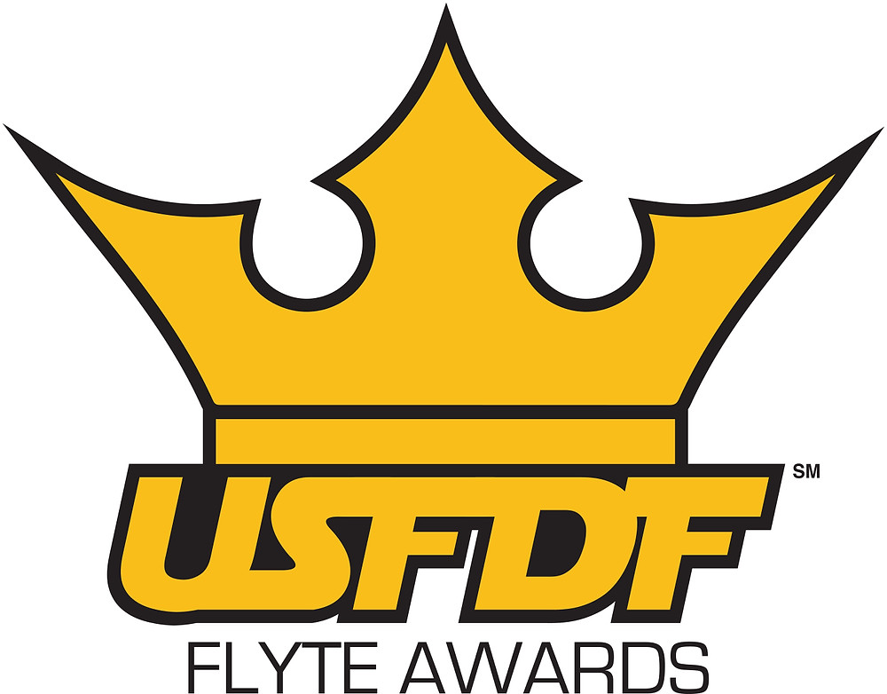 USFDF under crown with FLYTE AWARDS underneath