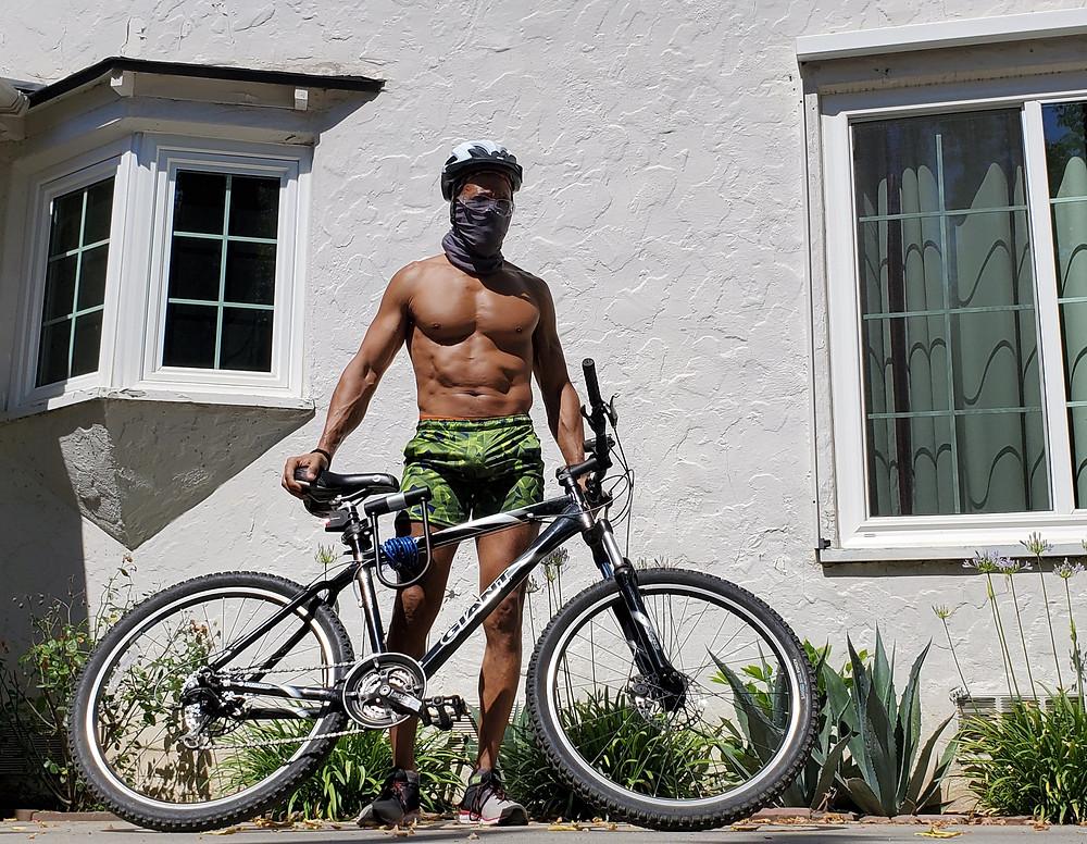 JB with bike