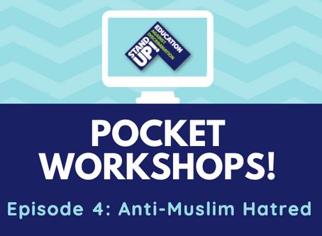 Pocket Workshop: Anti-Muslim Hatred