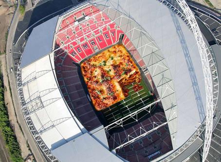 The Wembley Stadium Lasagne