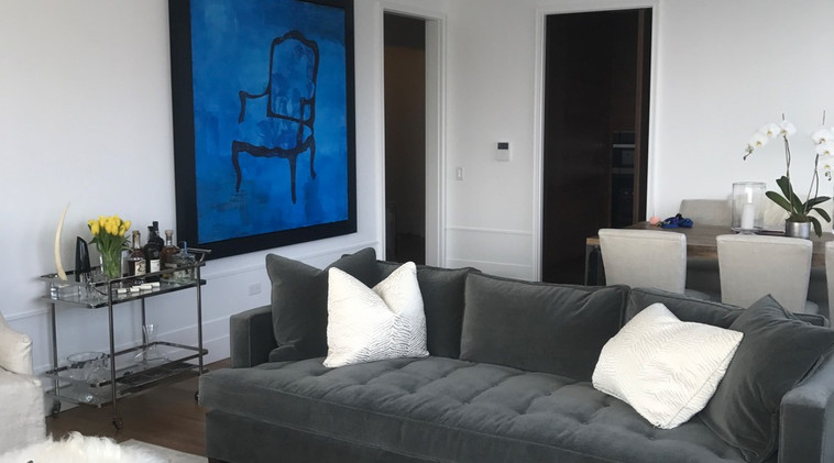 Commissioned Painting: Jill Hadley Hooper  New York, New York