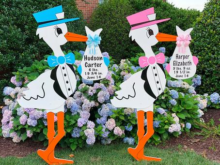 Steeli Bean's Stork Yard Rentals come to Rockwall!