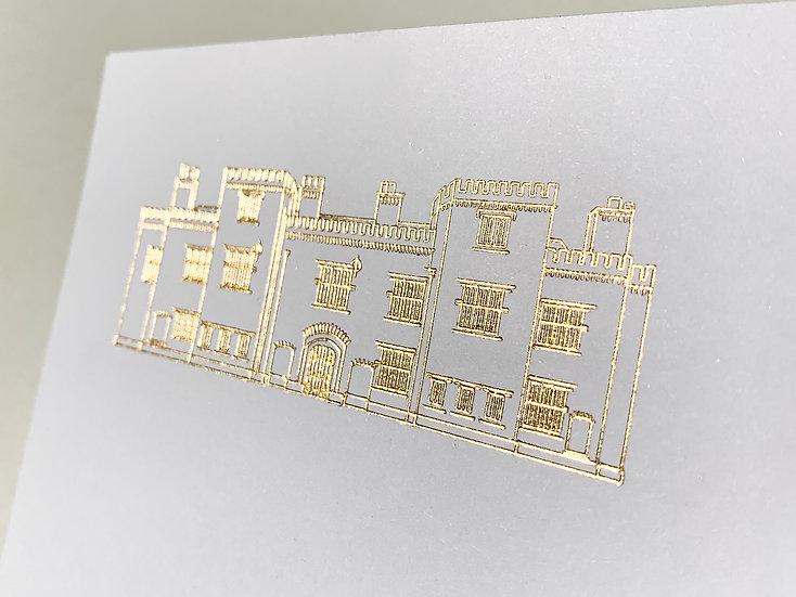 "Venue Illustration ""Palace Gardens"" Wedding Invitation"