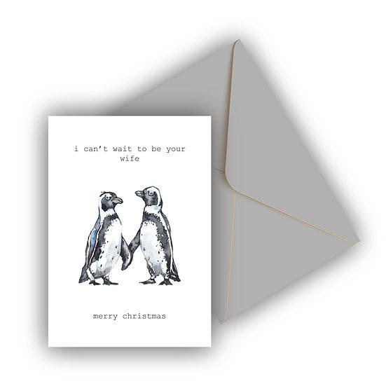 Christmas Card Husband Wife to be