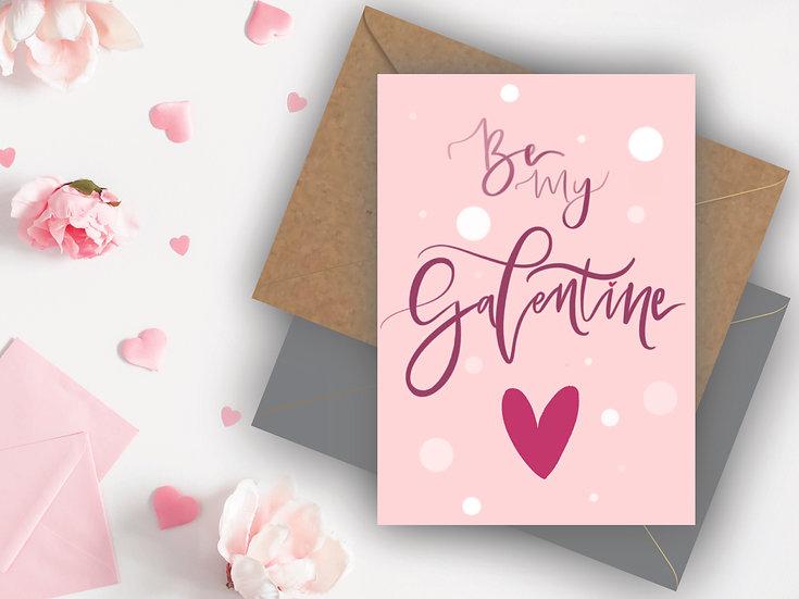 Galentine's Day Card Valentine's Day Card Best Friend Valentines Day Card Girlfriend Valentines Day Card, Friend Valentines D