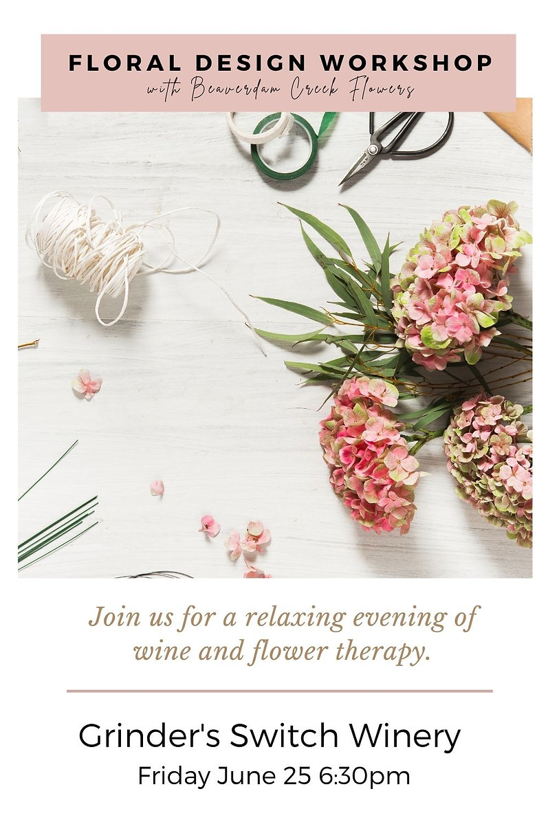 floral design workshop in centerville tn