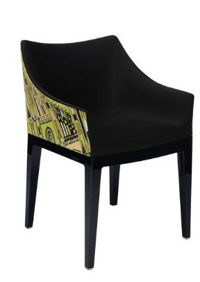 Sedia Madame Milano- struttura nera./Kartell art.5838