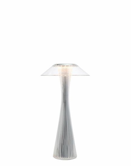 Lampada Space OUTDOOR/Kartell art. 9225 con batteria ricaricabie