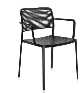 Sedia Audrey con braccioli/Kartell art.5876 - imballo di n.2 sedie