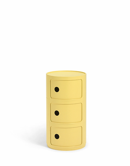 Cassettiera componibili BIO 3 cassetti/Kartell art. 5970