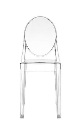 Sedia Victoria Ghost/Kartell art. 4857 - imballo di n.2 sedie
