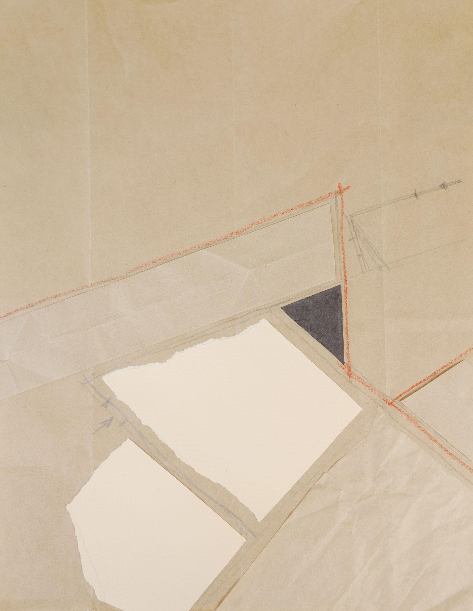 Architectural peinture abstraite