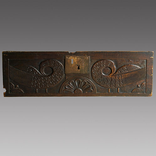 Late 17th Century Carved Oak Panel - £495
