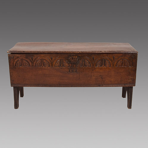 16th Century Six Plank Coffer - SOLD