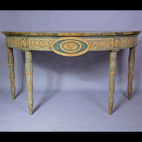 18th Century Italian Painted Console Table - SOLD
