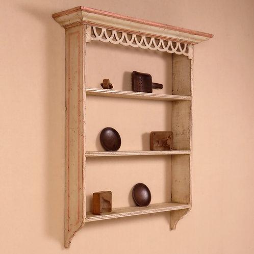 Early 19th Century Scandinavian Hanging Wall Shelves / Rack