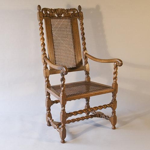 Charles II Walnut Armchair - £2950