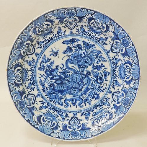 18th Century Delft Leopard Dish - £595