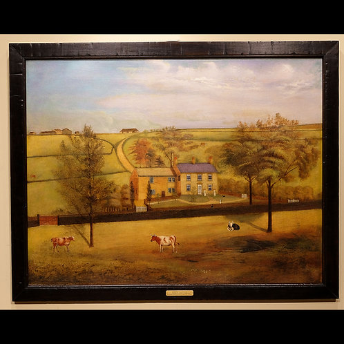 Late 19th Century Oil on Canvas Depicting an English Landscape - SOLD