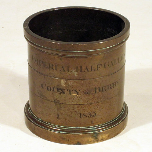 Early 19th Century Imperial Standard County Measure - £1850