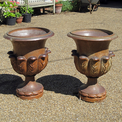 A Pair of Early 20th Century Stoneware Urns - £2950