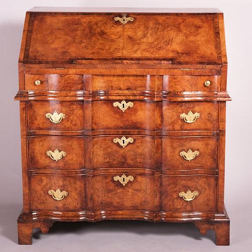 Early 18th Century English Walnut Bureau