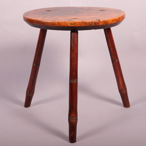 Early 19th Century Elm Stool - £1875