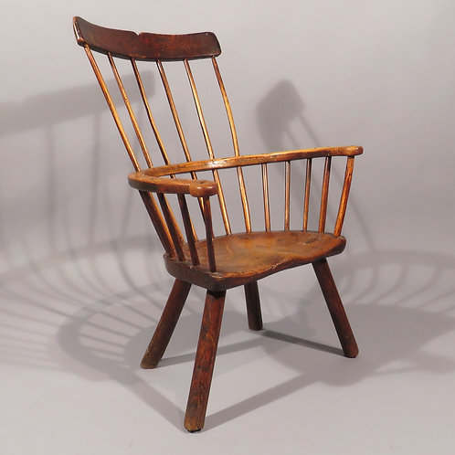 18th Century Primitive Windsor Chair - SOLD