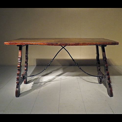 Early 20th century Spanish Dining Table / Desk - SOLD