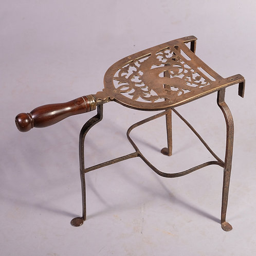 Mid 18th Century Bell Metal and Iron Trivet - £575