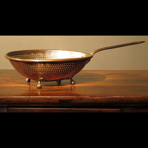 Large Early 19th Century Copper Strainer - £975