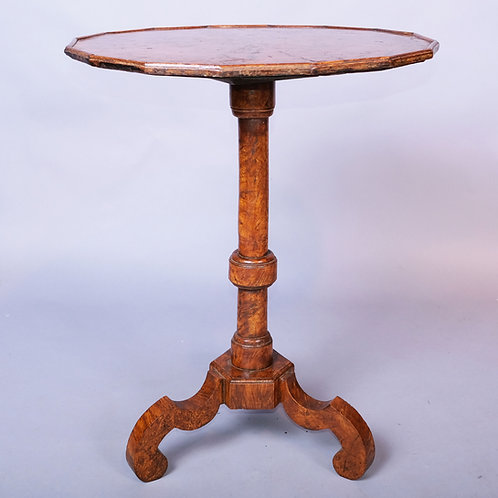 Early 18th Century Burr Elm Tripod Table - £5950