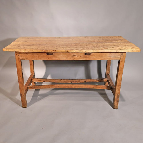 A Late 18th Century Sycamore and Yew Wood Table - £3750