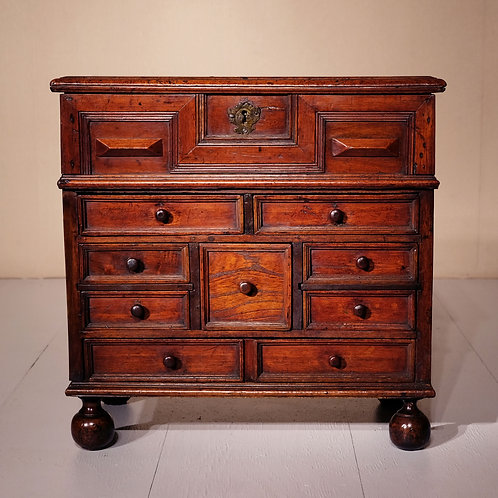 Early 18th Century Walnut Table Cabinet - SOLD