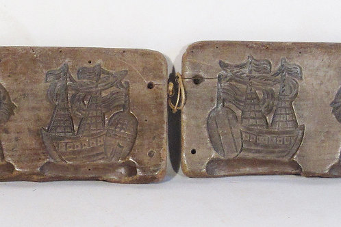A Late 18th Century Dutch Double Sided Chocolate Mould - £750