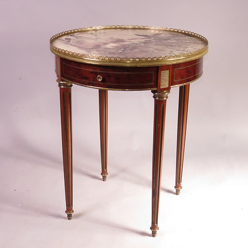 Late 19th Century Marble Topped Bouilotte Table - SOLD