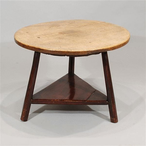 Late 18th Century Antique Cricket Table