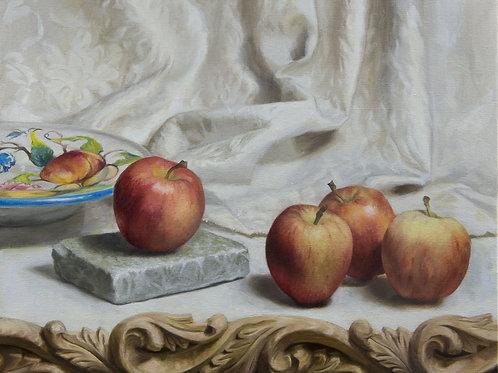 Four Apples - Marilyn Bailey - £2800