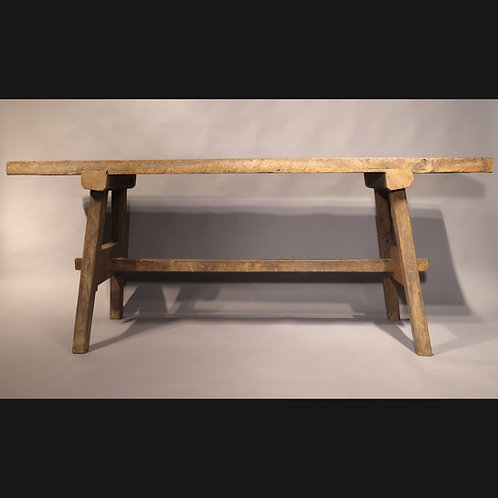 An Arts and Crafts Oak Workbench - SOLD