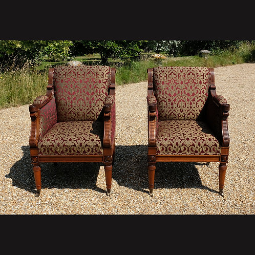 Pair of 20th Century Armchairs in the Style of Holland -£2250