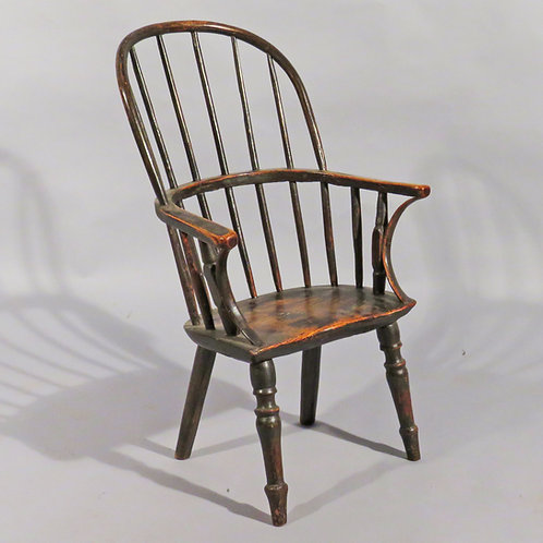A Late 18th Century Childs Windsor Chair in Ash - £1950