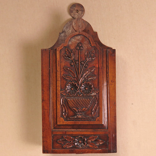 Late 18th Century French Walnut Candlebox - SOLD