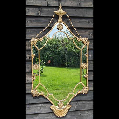 Early 20th Century Gilded Wall Mirror