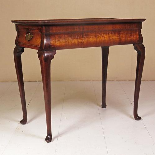 An 18th Century Dutch Walnut Silver Table - £4950