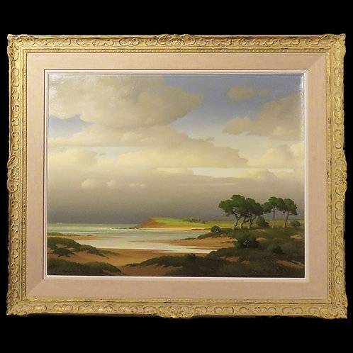 A 20th Century Landscape Oil On Canvas by Pierre de Clausade - £4950