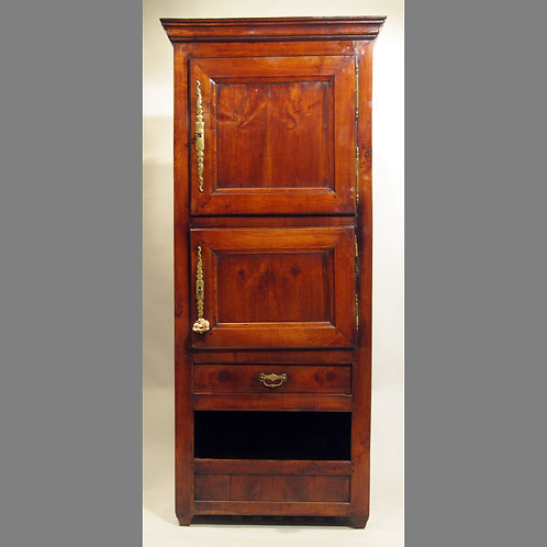 Early 19th Century French Fruitwood Food Cupboard -£3950