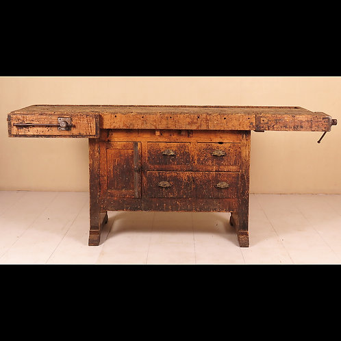 Early 19th Century English Work Bench - £1850