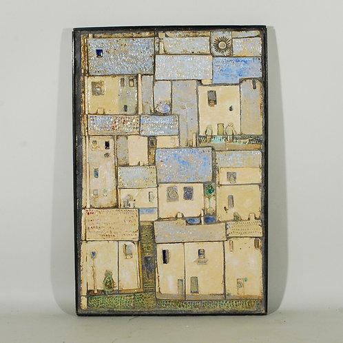 A 20th Century Panel of Glazed Studio Pottery Plaque - £4800