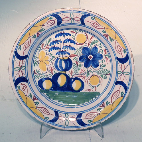 Mid 18th Century Dutch Delft Plate -SOLD